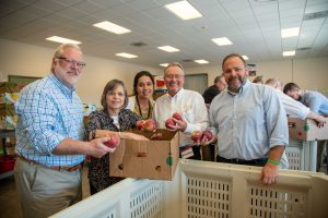 State Ag visits Food Bank