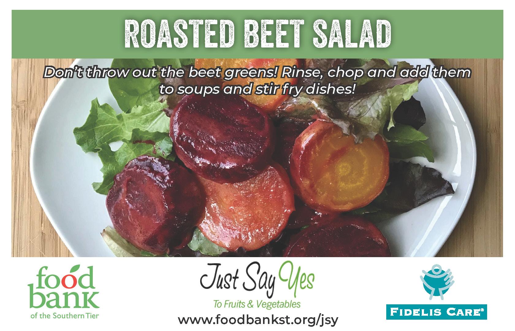beet salad - JSY
