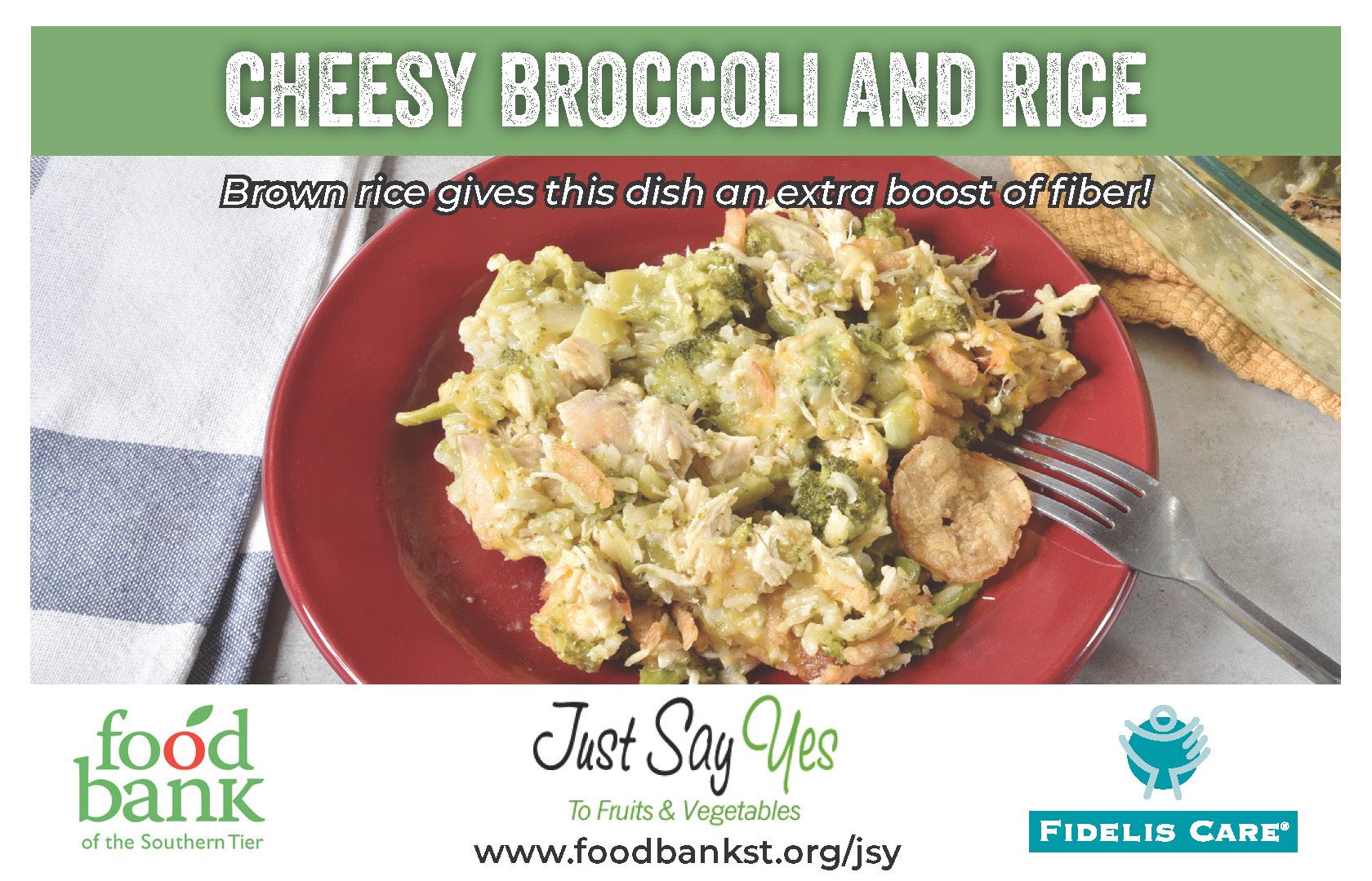 broccoli rice - JSY