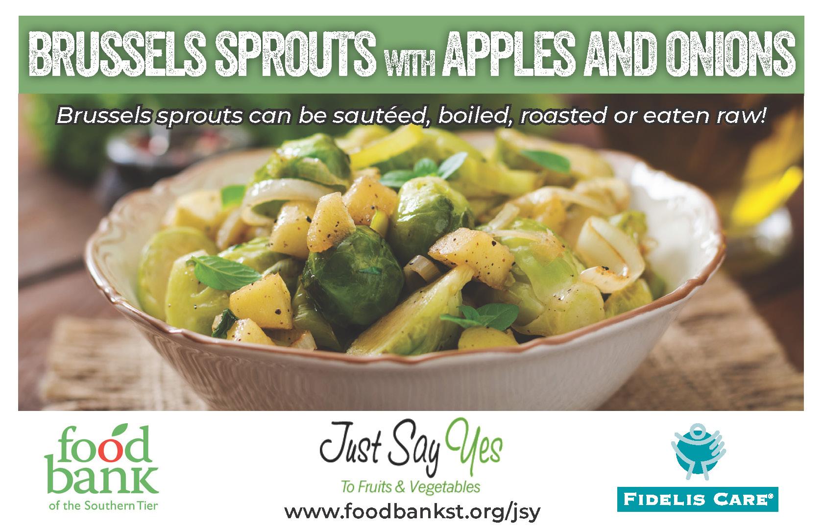 brussels apple onions - JSY