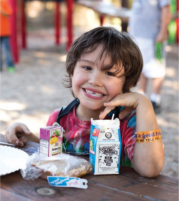 Feeding kids this summer
