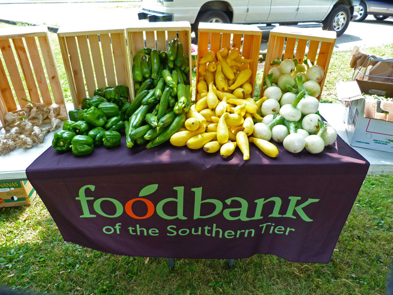 foodbankst table with vegetables - Our Programs