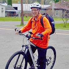 Ken Ryan, Food Bank staff member - Riding for a Healthy Heart