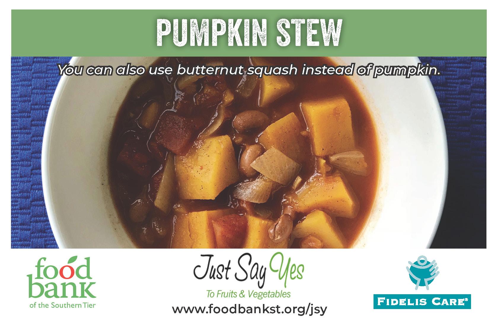 pumpkin stew - JSY
