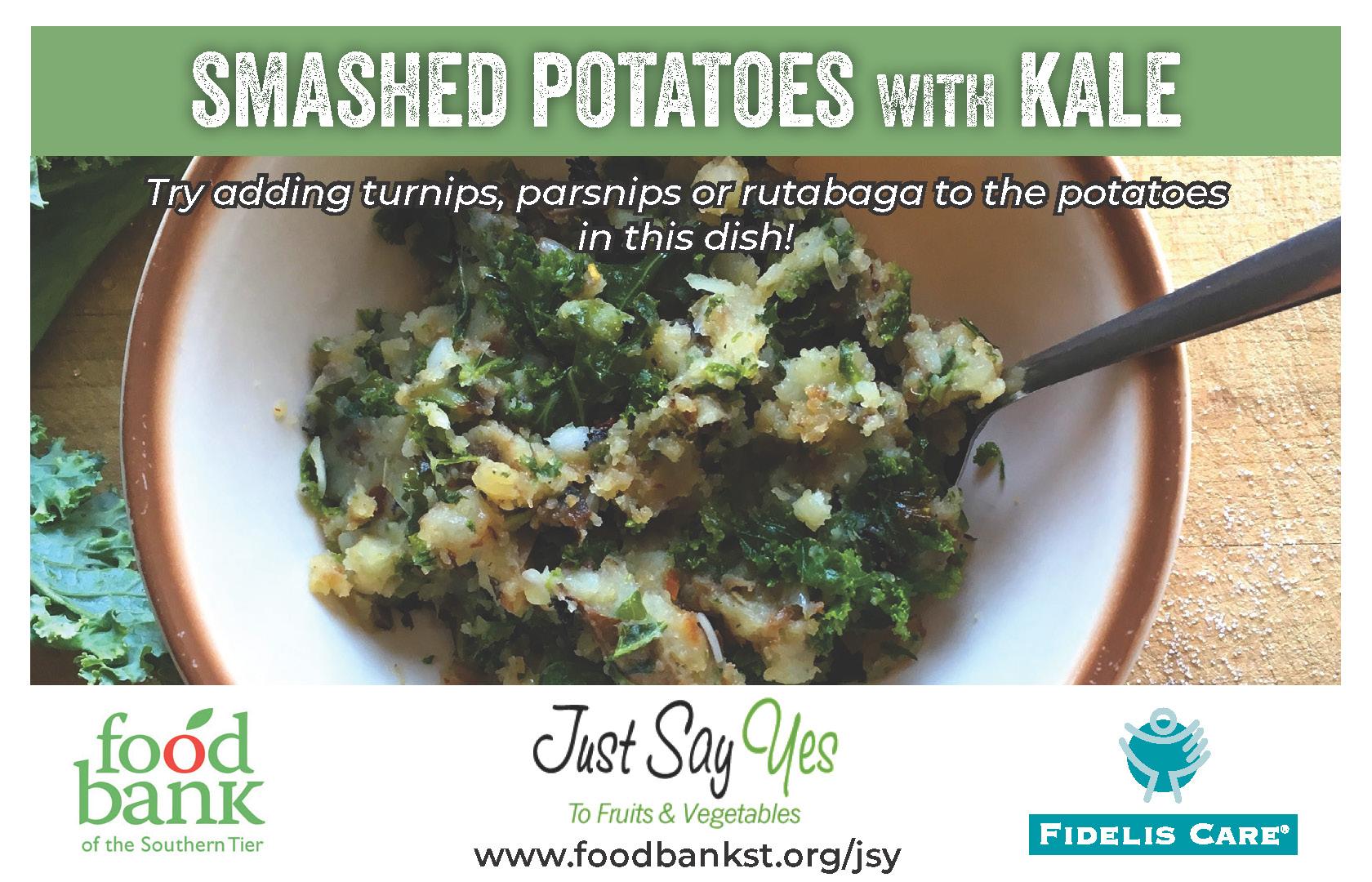smashed potatoes - JSY