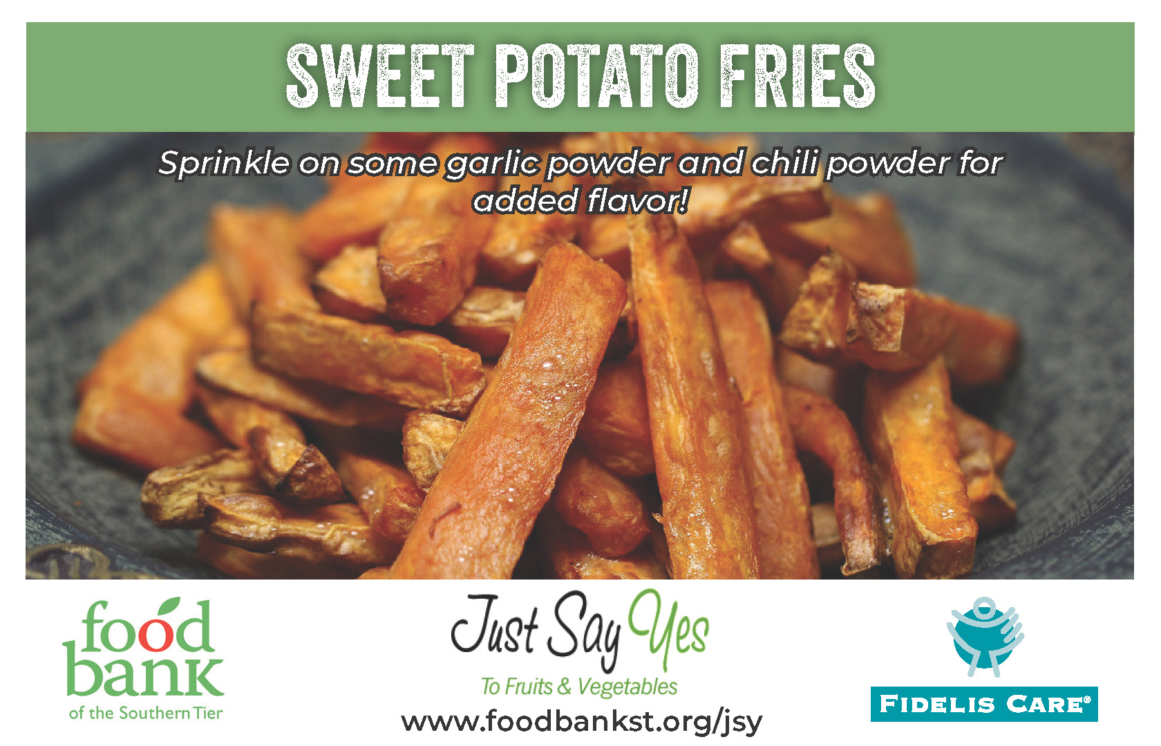 sweet potato fries - JSY